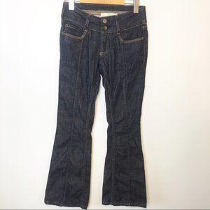Stella McCartney Dark Wash Low Rise Flare Jeans